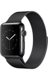 Apple Watch Series 2 42mm Space Black Stainless Steel Case with Milanese Loop Apple