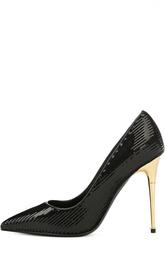 Туфли Metal Heel с пайетками Tom Ford