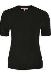 Пуловер с круглым вырезом и коротким рукавом Michael Kors