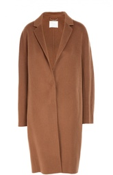 Шерстяное пальто свободного кроя HUGO BOSS Black Label
