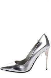 Туфли Metal Heel из металлизированной кожи Tom Ford