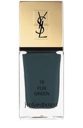Лак для ногтей La Laque Couture, оттенок 76 YSL