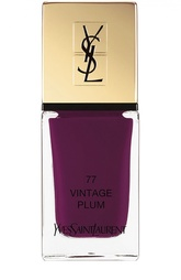 Лак для ногтей La Laque Couture, оттенок 77 YSL