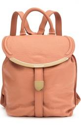 Кожаный рюкзак Lizzie See by Chloé