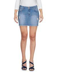 Джинсовая юбка Supertrash