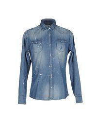 Джинсовая рубашка Daniele Alessandrini