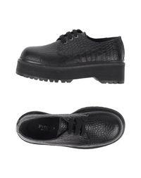 Обувь на шнурках Pinko Black