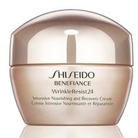 SHISEIDO Восстанавливающий питательный крем интенсивного действия Benefiance WrinkleResist24 50 мл