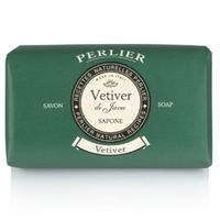 PERLIER Мыло для рук нежное Vetiver 125 г