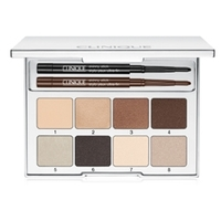 CLINIQUE Палетка для глаз Pretty Easy Palette 8х0.5 г + 2х0,028 г