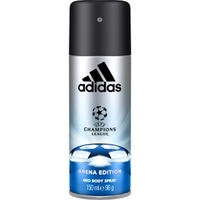 ADIDAS Парфюмированный дезодорант-спрей UEFA Champions League Arena Edition 150 мл