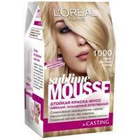 L`OREAL Краска для волос Subleme Mousse 50 Чистый каштан