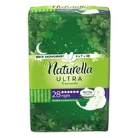 NATURELLA Ultra Женские гигиенические прокладки ароматизированные Camomile Night Single 28 шт.