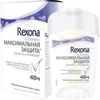 REXONA Антиперспирант-крем Максимальная защита Сухость и Комфорт 45 мл
