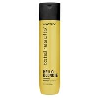 MATRIX Шампунь для сияния светлых волос HELLO BLONDIE 300 мл