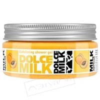 DOLCE MILK Гель-скраб для душа Молоко и Абрикос 200 мл