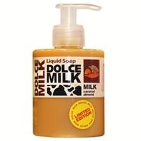 DOLCE MILK Жидкое мыло Молоко и миндаль в хрустящей карамели 300 мл
