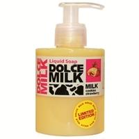 DOLCE MILK Жидкое мыло Молоко и сливочное печенье с клубничной начинкой 300 мл