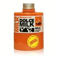 DOLCE MILK Гель для душа Молоко и апельсиновые дольки в шоколаде 460 мл
