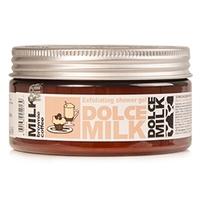 DOLCE MILK Гель-скраб для душа Молоко и кофейный брауни со сливочным кремом 200 мл