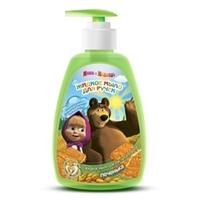 Маша и Медведь Жидкое мыло для рук питательное Печенька 290 мл