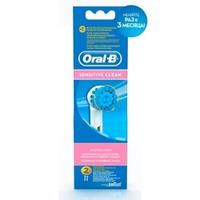 ORAL-B Насадка для электрических зубных щеток Sensitive Бережное очищение зубов EBS17 2 шт.