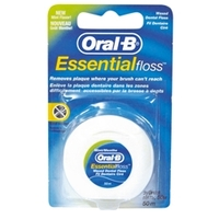 ORAL-B Зубная нить Essential floss мятная 50 м
