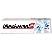 BLEND-A-MED Зубная паста 3D White Трёхмерное отбеливание 150 мл