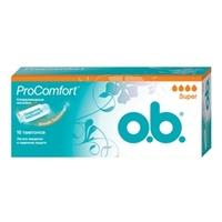 O.B. Тампоны ProComfort супер 8 шт.