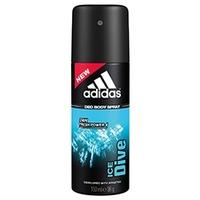 ADIDAS Дезодорант-спрей для мужчин Ice Dive 150 мл
