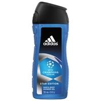 ADIDAS Гель для душа для тела и волос для мужчин UEFA Champions League Star Edition 250 мл