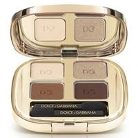 DOLCE & GABBANA MAKE UP Четырёхцветные тени для век Smooth Eye Colour Quad № 145 AMORE