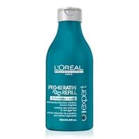 LOREAL PROFESSIONNEL Ухаживающий шампунь для ослабленных волос Serie Expert Pro-Keratin Refill 250 мл