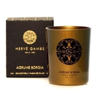 HERVE GAMBS Agrume Borgia Fragranced Candle Парфюмированная свеча 190 г