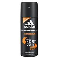 ADIDAS Дезодорант-антиперспирант Intensive для мужчин 150 мл, спрей