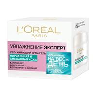 L`OREAL Крем-гель Увлажнение Эксперт для нормальной и смешанной кожи 50 мл