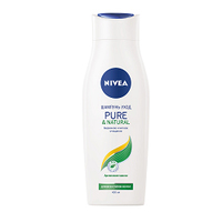 NIVEA Шампунь Pure&Natural 400 мл