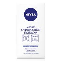 NIVEA Мягкие очищающие полоски 6 шт.