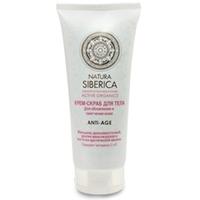 NATURA SIBERICA Крем-скраб для тела для обновления и смягчения кожи Anti-Age 200 мл