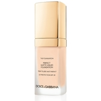 DOLCE & GABBANA MAKE UP Матирующий тональный крем Perfect Matte Liquid Foundation № 110 CARAMEL