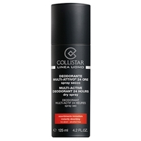 COLLISTAR Дезодорант «сухой спрей» для мужчин Multi-Active 125 мл