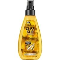 GLISS KUR Масло-спрей Термо-защита Oil Nutritive 150 мл