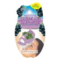 MONTAGNE JEUNESSE Питательная и тонизирующая маска-салфетка «Бразильская Глина» 30 г