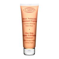 CLARINS Очищающий крем с отшелушивающим эффектом с экстрактом апельсина 125 мл