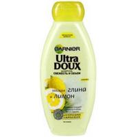 GARNIER Шампунь Лимон и глина Ultra Doux для жирных и нормальных волос 400 мл