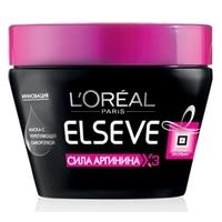 L`OREAL Маска для волос Elseve Сила Аргинина х3 с укрепляющей сывороткой 300 мл