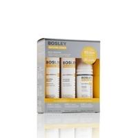 BOSLEY Система ЖЕЛТАЯ для нормальных/тонких ОКРАШЕННЫХ волос 150 мл + 150 мл + 100 мл