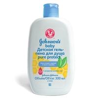 JOHNSONS BABY Детская гель-пена для душа Pure Protect 300 мл