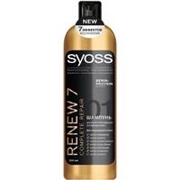 SYOSS Шампунь для мульти-поврежденных, истощенных волос RENEW 7 500 мл