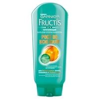 GARNIER Бальзам-ополаскиватель укрепляющий, для ослабленных волос, склонных к выпадению, Fructis Рост Во Всю Силу 200 мл
